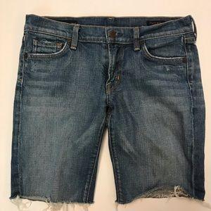 Citizens of Humanity | Cutoff Denim Shorts